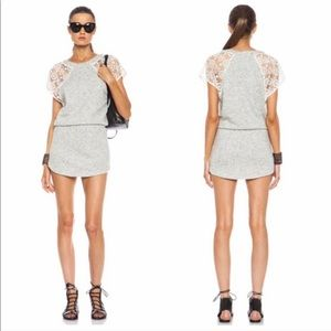Pam & Gela Freja Heather Cream Knit Dress Size M